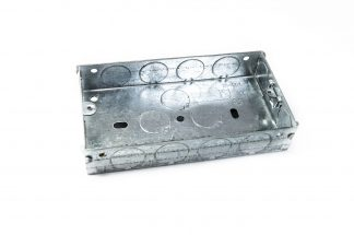 Galvanised Switch & Socket Boxes